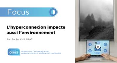 Hyperconnexion et environnement